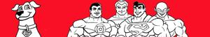 Super Friends boyama
