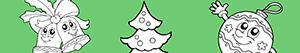 Yılbaşı Ağacı Süslemek boyama
