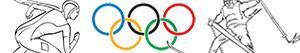 Kış Olimpiyat Oyunları boyama